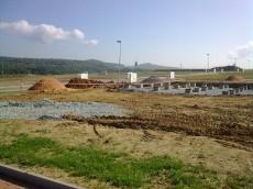 Parcelace_pohled na severovýchod_s první výstavbou