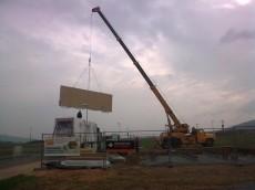 Výstavba prvního domu - dodavatel Ecomodula č.2