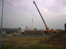 Výstavba prvního domu - dodavatel Ecomodula č.3