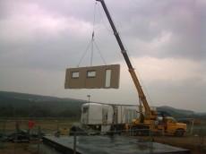 Výstavba prvního domu - dodavatel Ecomodula č.6