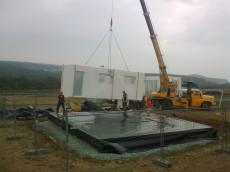 Výstavba prvního domu - dodavatel Ecomodula č.7