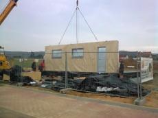 Výstavba prvního domu - dodavatel Ecomodula č.8