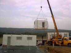 Výstavba prvního domu - dodavatel Ecomodula č.9