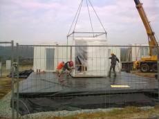 Výstavba prvního domu - dodavatel Ecomodula č.10