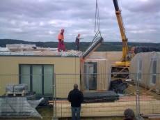 Výstavba prvního domu - dodavatel Ecomodula č.12
