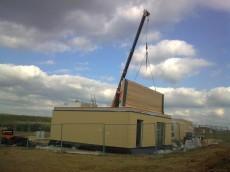 Výstavba prvního domu - dodavatel Ecomodula č.14