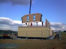 Výstavba prvního domu - dodavatel Ecomodula č.15