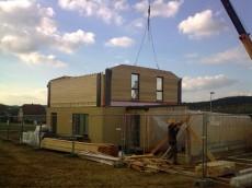 Výstavba prvního domu - dodavatel Ecomodula č.17