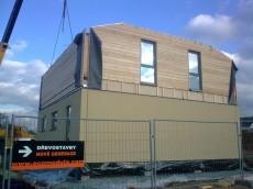 Výstavba prvního domu - dodavatel Ecomodula č.19