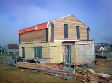 Výstavba prvního domu - dodavatel Ecomodula č.20