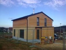 Výstavba prvního domu - dodavatel Ecomodula č.21