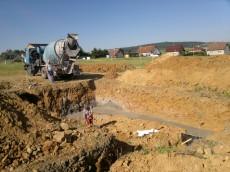 Výstavba třetího domu - dodavatel OKAL č.2