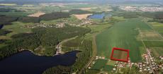 Lokalita Ejpovice - letecký snímek
